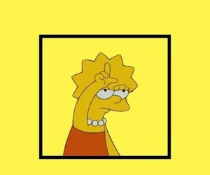 wallpaper, lisa, and the simpsons image