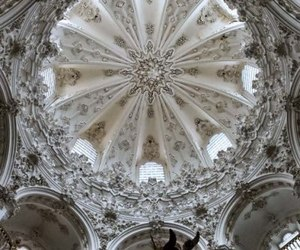 church, architecture, and spain image