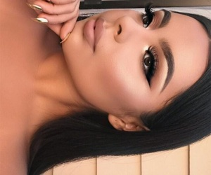 artist, flawless, and makeup look image