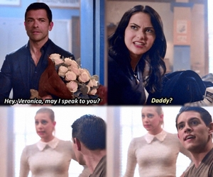 daddy, the cw, and betty cooper image