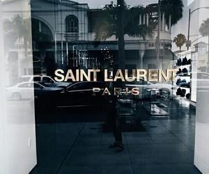 fashion, paris, and saint laurent image