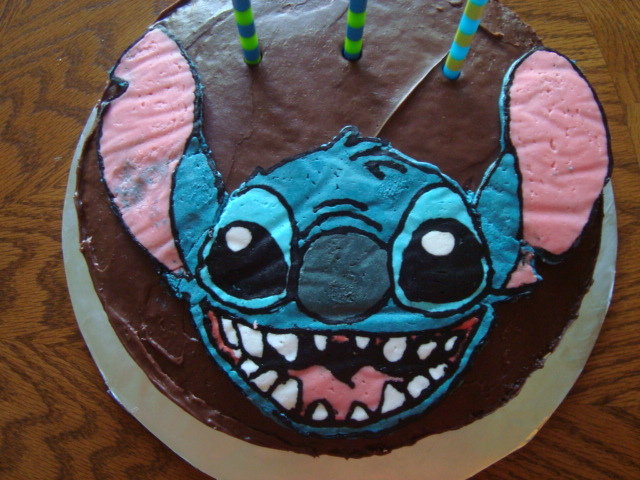 Stitch Cake Shared By Momo On We Heart It
