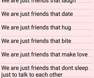 couple, justfriends, and friendswithbenefits image