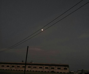 black, dark, and moon image