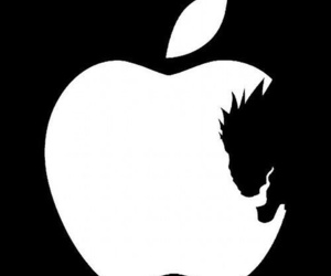 apple, death note, and ryuk image