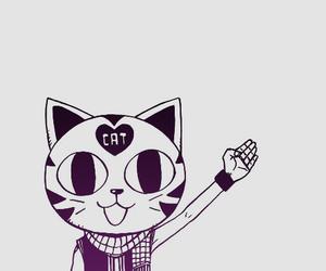 fairy tail, cat, and manga image