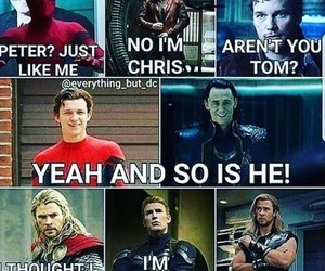Marvel, funny, and thor image