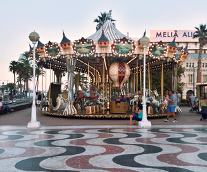 beautiful, carousel, and colour image
