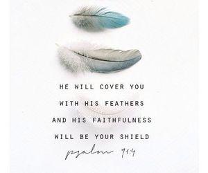 faith, god, and verse image