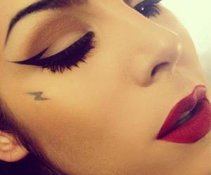 makeup, eyeliner, and kat von d image