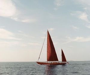 aesthetic, photography, and sailing image