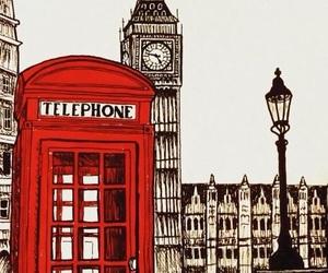 london, wallpaper, and art image