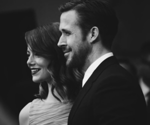 actors, black and white, and lové image