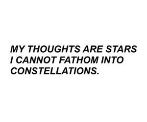 stars, quotes, and constellations image