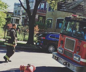 captain, chicago fire, and jesse spencer image