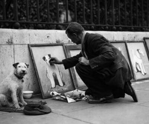 dog and art image
