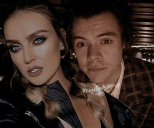 perrie edwards and Harry Styles image