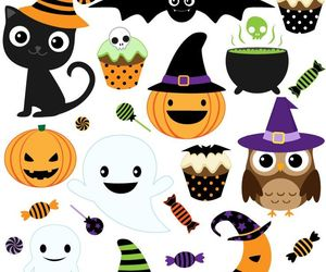 Halloween and clip art image
