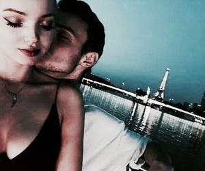 couple, dove cameron, and kiss image