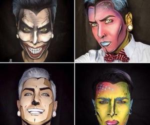 make up, ️️hallowen, and pop art image