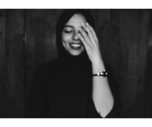 hijab, smile, and حجاب image