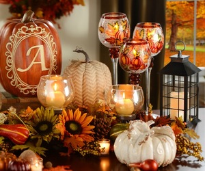 decoration, living room, and fall image