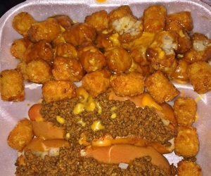 food, hotdogs, and takeout image