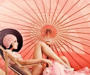 pink, photography, and vintage image