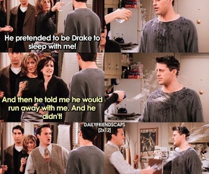 chandler, Joey, and monica image