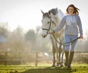equestrian, equine, and horse image