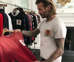 beckham, David Beckham, and tatoo image