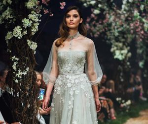 runway, dress, and fashion image