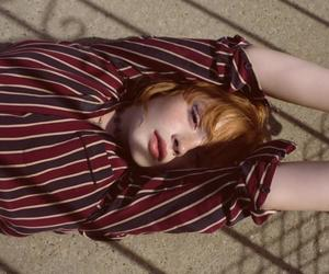 curl, girl, and redhead image