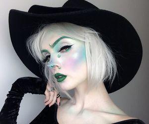 Halloween, makeup, and fashion image
