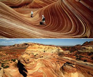 nature and the wave image