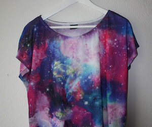 galaxy, t-shirt, and shirt image