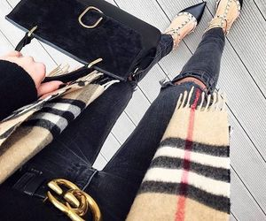 Burberry, fashion, and gucci image