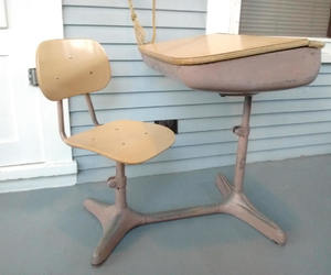 etsy, industrial, and childrens desk image