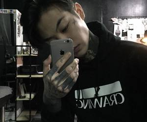 tattoo, boy, and ulzzang image
