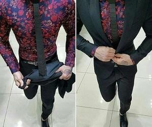 fashion, gentlemen, and mens wear image