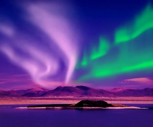 aurora borealis, northern lights, and wallpapers image