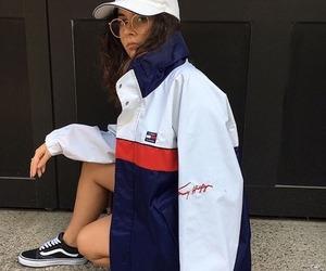 fashion, Fila, and streetfashion image