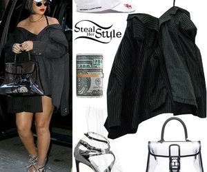rihanna, singer, and steal her style image