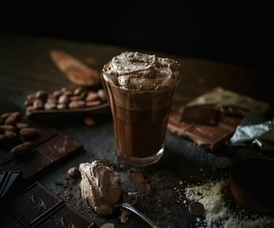chocolate, food, and coffee image