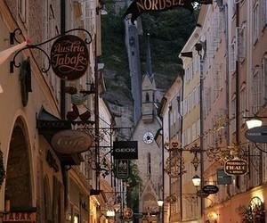 austria, travel, and salzburg image