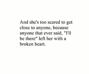 quotes, broken, and broken heart image
