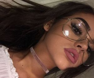 glasses, pretty, and maggie lindemann image