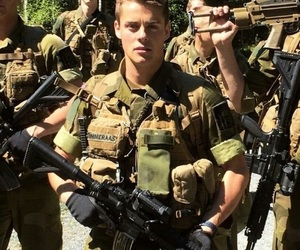 handsome, skam, and soldier image
