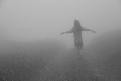 girl, alone, and grunge image