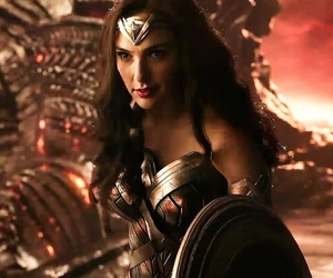 justice league, movie, and wonder woman image
